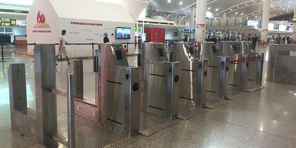 宁夏机场人证合一检票系统案例